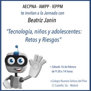 Beatriz Janin tecnología, niños, adolescentes. retos y riesgos