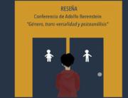 Adolfo Berenstein. transexualidad y psicoanálisis