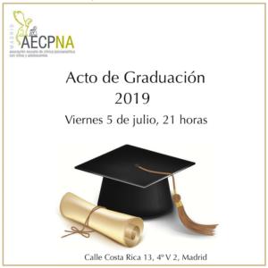 Graduación Postgrado Psicología Madrid