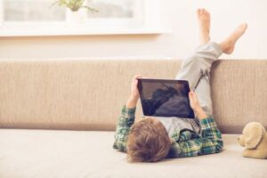 terapia infantil con tablet